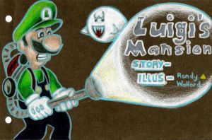 Luigi's Mansion 1 by TheFalseLegend