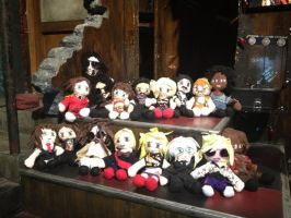 Rock of ages cast plushie form on set by lilkimmi27