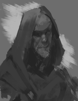 Scrappy Old Man by Sycra