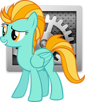 Lightning Dust Settings Icon by LostInTheTrees