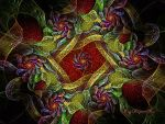 Floral Geometry by Rozrr