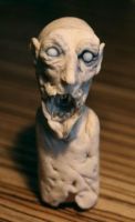 super sculpy zombie head 02 by torvenius