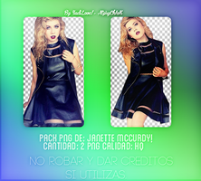 +Pack PNG de Janette Mccurdy by AtziryChIcK