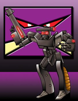 Shootertron - Leader of the Fantasticons! by vonfolger