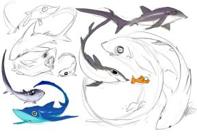 Shark week: Pelagic thresher by snowkatt101