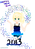 happy new year by Hibird2440