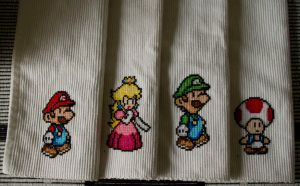 Super Mario placemats by tihvutin