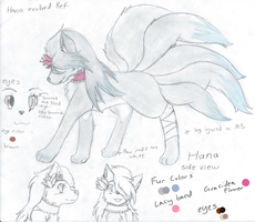Hana Evolved Ref by LittleWhiteWolfAngel