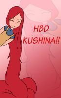 HBD  Kushina by Aniiz0610