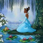 TIANA AND THE FROG by FERNL