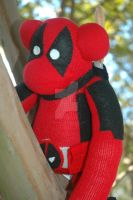Deadpool SockMonkey by ArtsyAndreaM