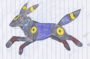 Umbreon by WinterStarRin