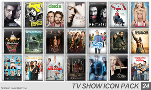 TV Show Icon Pack 24 by FirstLine1