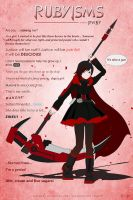 RWBY - Rubyisms by Ace-Wong