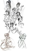 Disney Fairies by drakonarinka