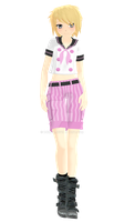 Natsumi - LA Summer Uniform by Rozz-a