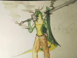 Bullets Cannot Harm Me WIP by TopStooge