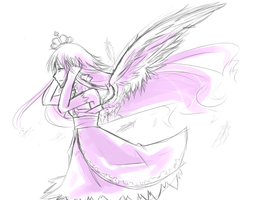 Cuz' there are angels all around by Everinn