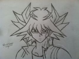 Yu-Gi-Oh 5d's -Yusei Fudo - Request from *Malinda2 by MizukiTenshi