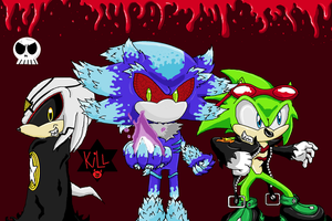 Finitevus Mephiles and Scourge by ShadowTheHedgehog444