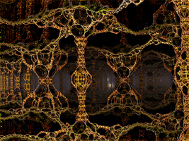 Caves , Lysergica Neural Network (1) by PhotoComix2