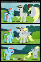 Rainbow Dash and Derpy in ''The Button'' by DiegoTan