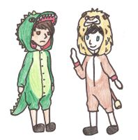 Dan and Phil Krave Challenge by Margaretto-Ri