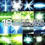 16 Stock Tech Backgrounds by HugoM-01