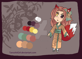 Kitsune Girl Adoptable ~ Open ( price change) by TanoshiiGirl