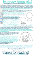 how to draw chibi hatsune miku by ayamexx