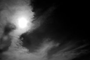 Skyscape BW by LiebeSchatte