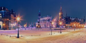 Theatre Square, Dresden by hessbeck-fotografix