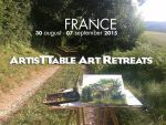 Art retreat France 2015 by Anipo