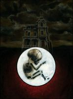 Silent Hill 1 full painting by menton3