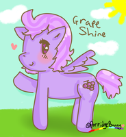 Grape shine by PorridgeBunny
