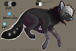 Yin and Yang Themed - Scene Canine Adopt||CLOSED|| by AdoptingLove
