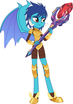 Equestria Girls Princess Ember by SketchMCreations
