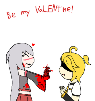 Happy VaLENtine's day by Ask-Tei-the-Yandere
