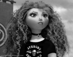 Disney punk edit- Merida by JokerHeart472