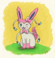Little Sylveon by MusicMew