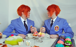 Ouran Twins Cosplay - My Mirror by Kozekito