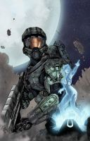 Master Chief And Cortana by FabianCobos