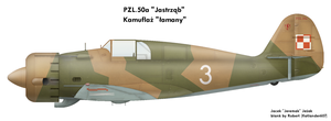 PZL.50 Jastrzab: 2-color by Jeremak-J