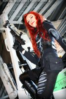 G.I. Joe - Scarlett cosplay 23 by ShadeNinja