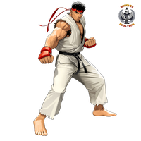 Ryu Render 01 by PimplyPete