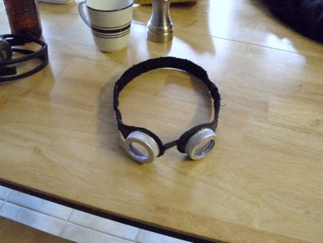 Basic Steampunk Goggles by sol-the-ninja