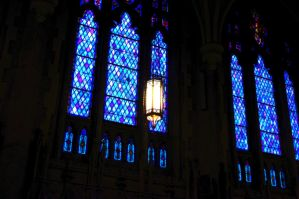 Blue Stained Glass by 1madhatter