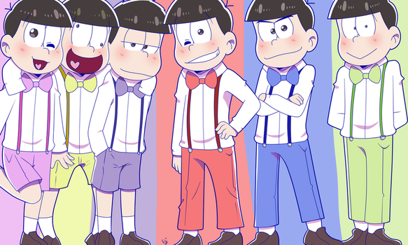 [Gift] Happy Birthday Matsuno Brothers! by rashanacooke24