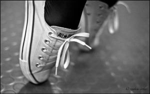 Ballet and Converse All Star by hnji