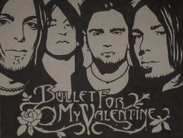 Bullet for my Valentine by Nikky-VIIX